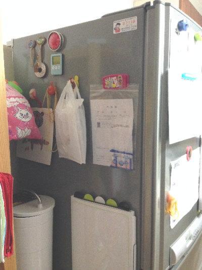 冷蔵庫の側面(after)