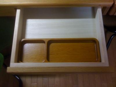 木製ペントレー付き