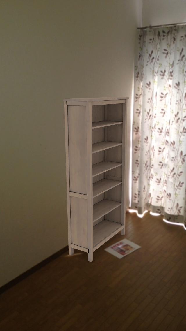 書棚を配置