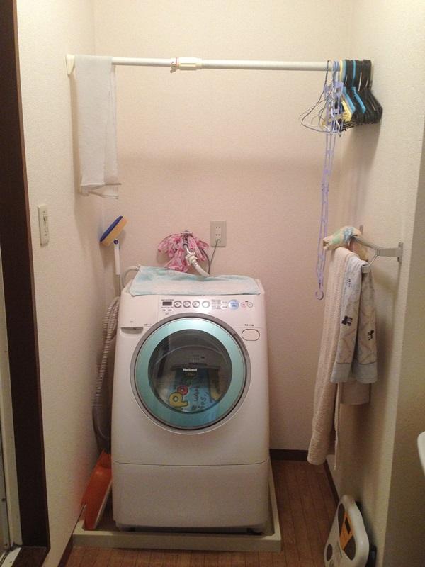 洗濯機周りの現状