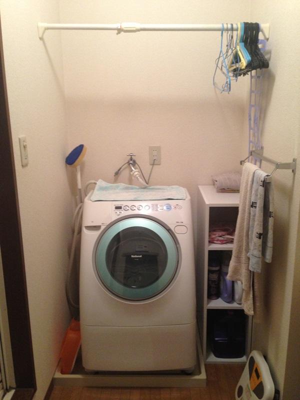 洗濯機周り after