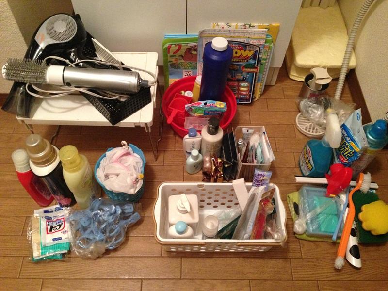 洗濯用品、風呂用品、掃除用品