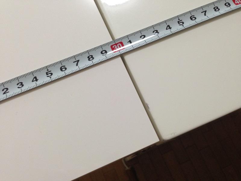 すき間2mm