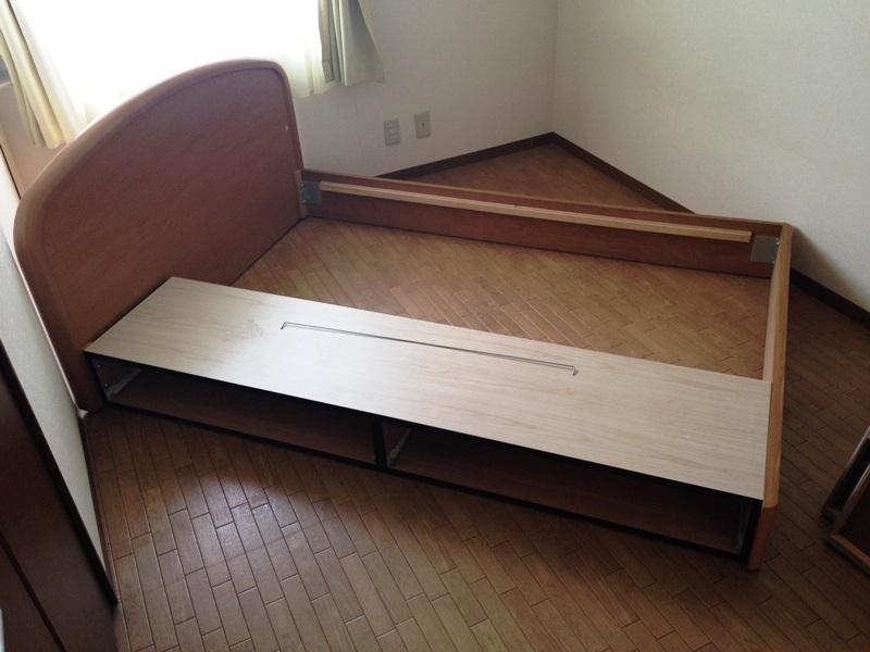 ベッドが回転できない
