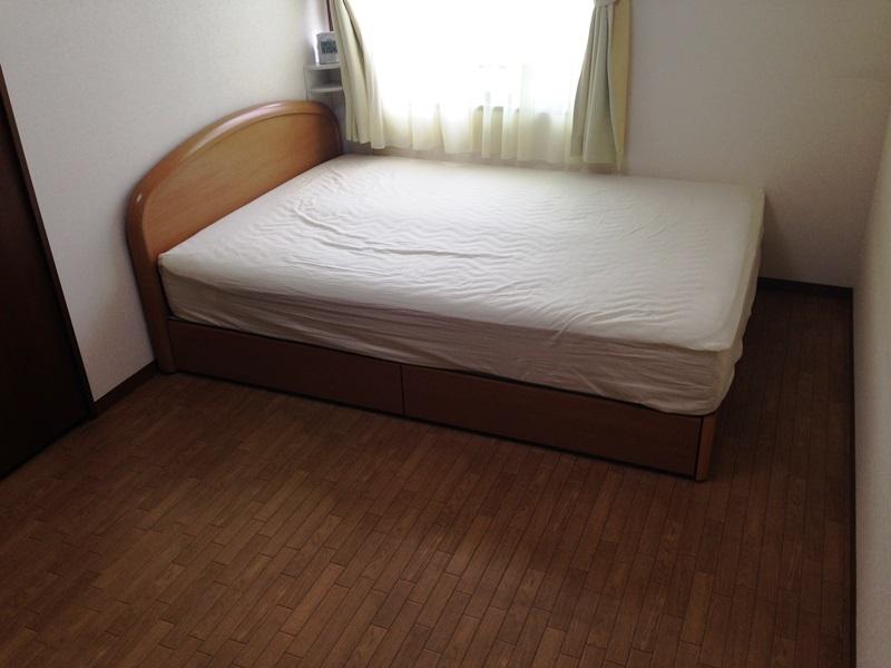 ベッドの移動が完了