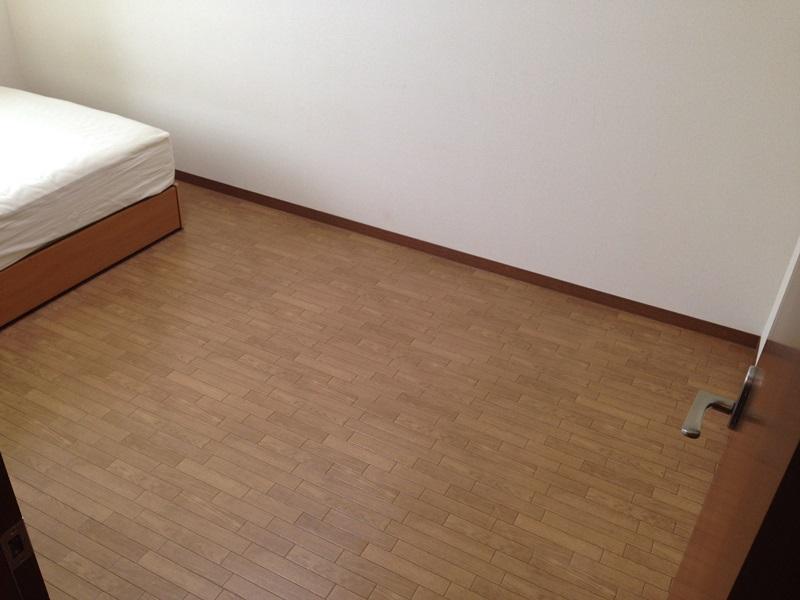 二段ベッドを置くスペースができました