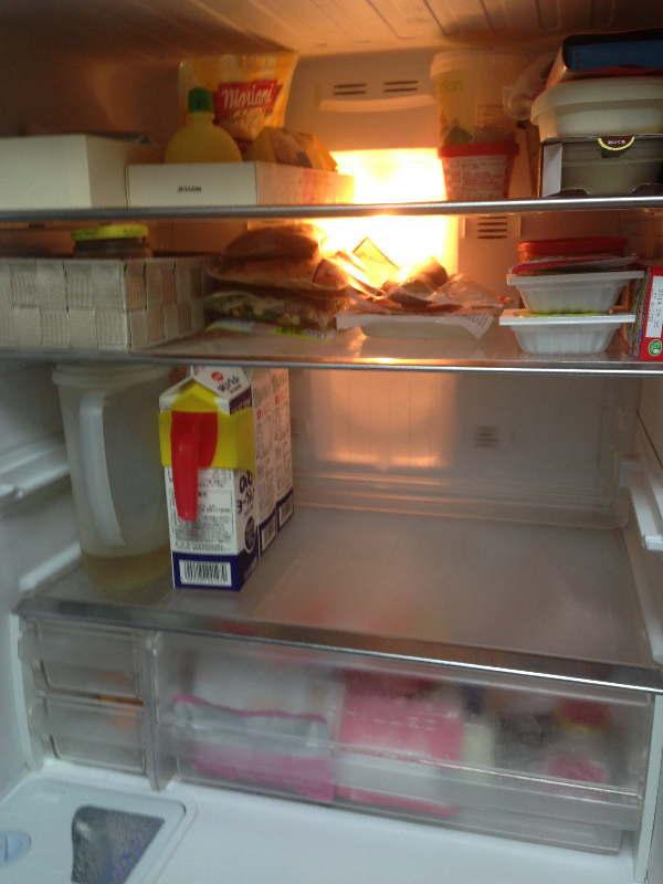 冷蔵室・上段