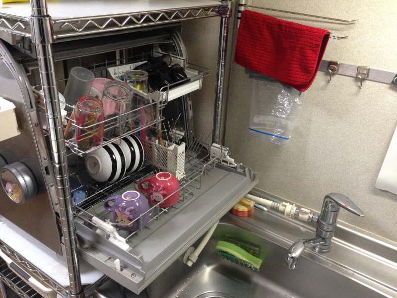 食器洗い乾燥機@シンク横