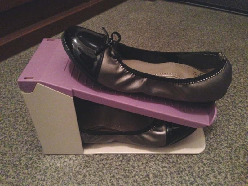 伊勢藤 靴収納スペース1/2正しい使い方